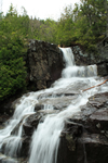 Adirondacks waterfall